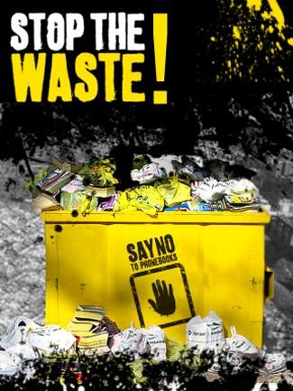 Stop Phonebook Waste