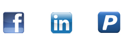 Sign in with Facebook, LinkedIn or Paypal